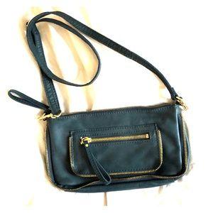 Soft Blue Linea Pelle Handbag